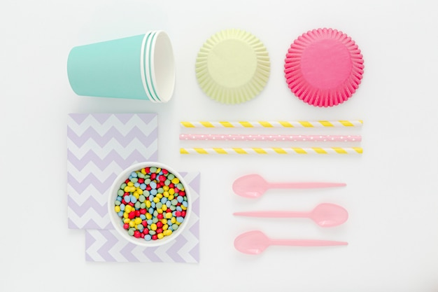 Plastic cutlery for party