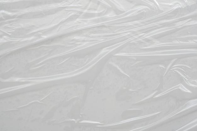Plastic film wrap texture