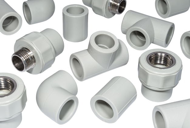 Plastic fittings for polyprpylene water pipes