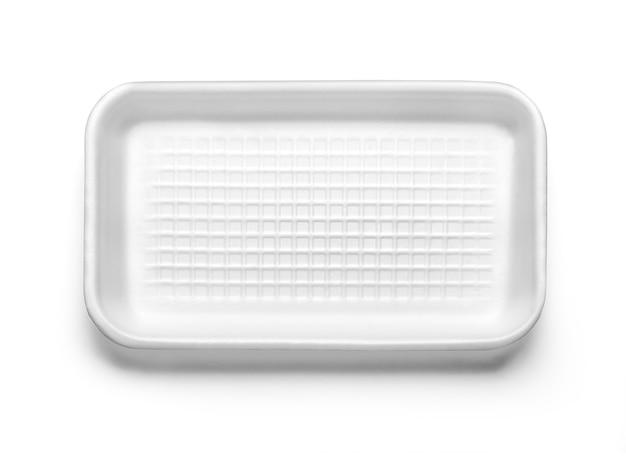 分離されたプラスチック製のフードボックス