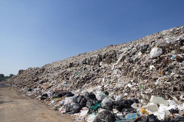 Plastic junk yard