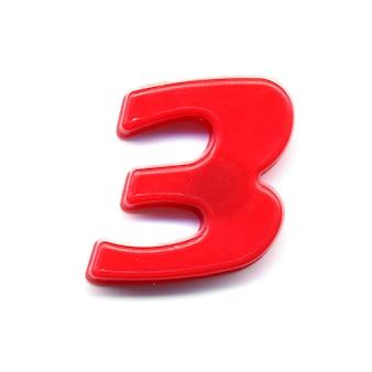 플라스틱 자기 번호 3