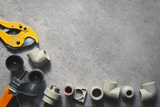 수도 시스템 용 플라스틱 파이프 납땜 인두 파이프 절단 도구 모서리 홀더 및 어댑터