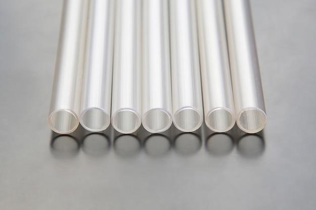 Plastic transparent tubes for different industries