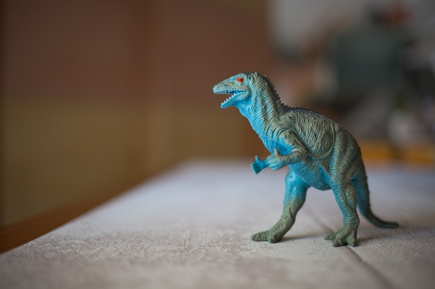 Plastic tyrannosaurus rex toy