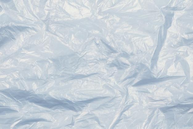 プラスチック製のwihiteの背景。上面図。スペースをコピーします。