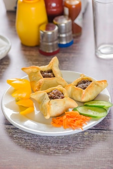 Plate of syrian borak