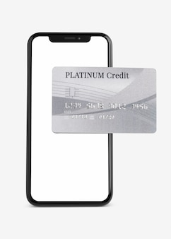 Platinum credit card  mobile banking