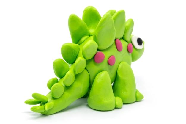Play dough stegosaurus