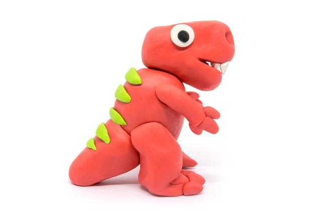 Play dough tyrannosaurus