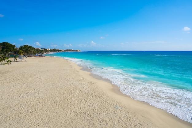 Playa del carmen beach in riviera maya