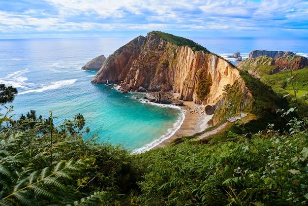 Playa del silencio in cudillero asturias spain Premium Photo