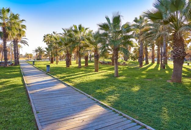 Playa el pinar beach in grao de castellon