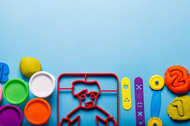 Playdough 항목 몬테소리 놀이 어린이 놀이