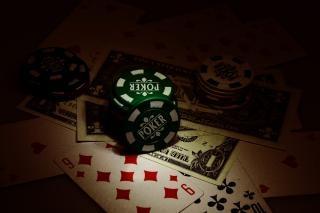 Playing cards  spotlight