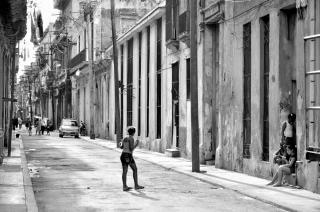 Playing in havana