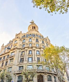 Plaza catalonia, barcelona, spain