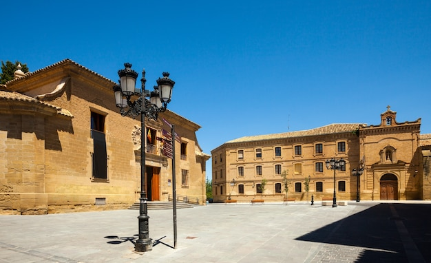 Plaza de la universidad in huesca