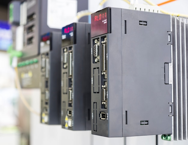 The plc controller for industrial machine