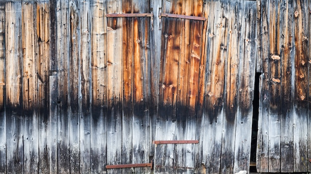 Plenty of details in this old wood door useful as background