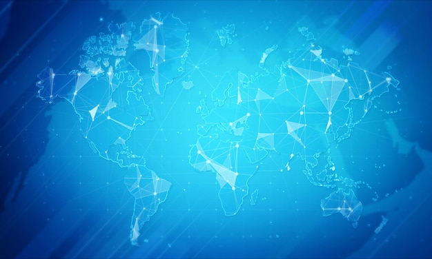 Plexus network background