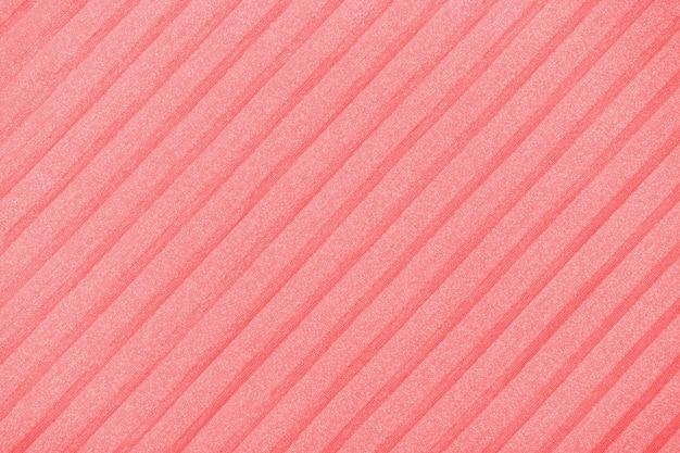 Plisse background toned. geometric cloth lines. fabric, textile close up.
