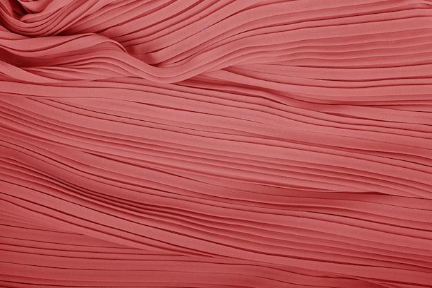 Plisse fabric background texture