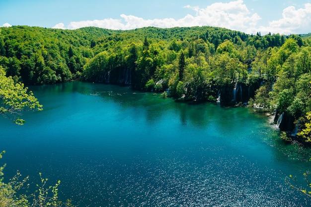 플리트 비체 호수 크로아티아 국립 공원 영토