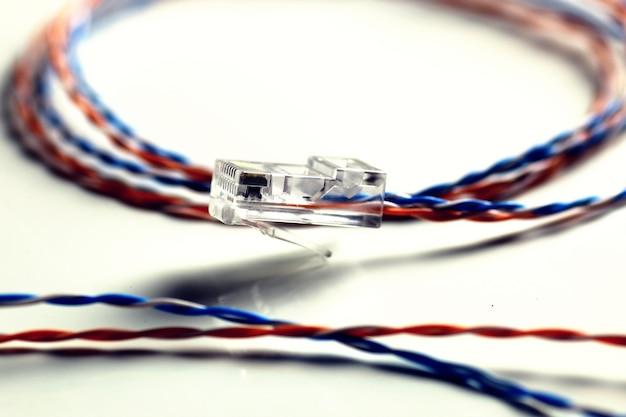 Цвет провода штекера lan