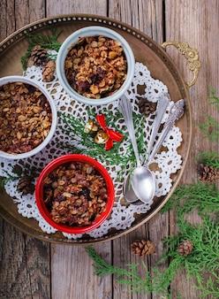 Сливовая крошка. новогоднее и рождественское печенье.