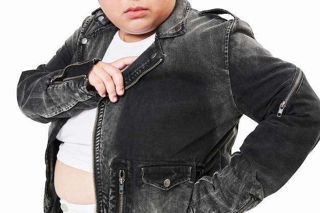 플러스 사이즈 재킷 의류 여성 패션