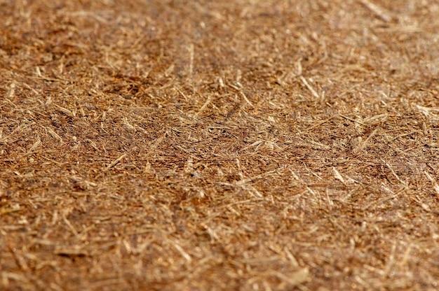 Фанера, прессованная деревянная панель, фон текстуры дсп, выбранный фокус