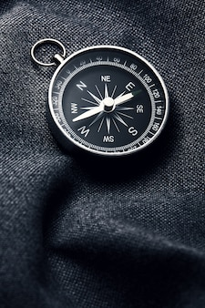 Pocket compass. compass for have an adventure in nature.