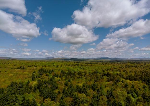 Pocono mountains pennsylvaniaアメリカ山脈の風景