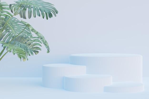 Podium 3d rendering