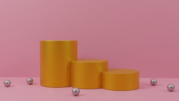Podium design for product presentation