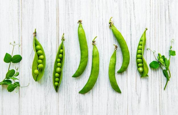 Стручки зеленого горошка