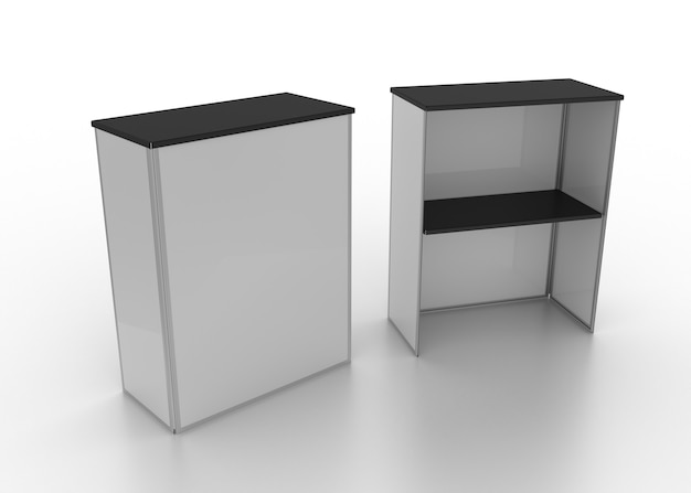 판매 시점 테이블 전면 앰프 후면 카운터 탑 브랜드 테이블