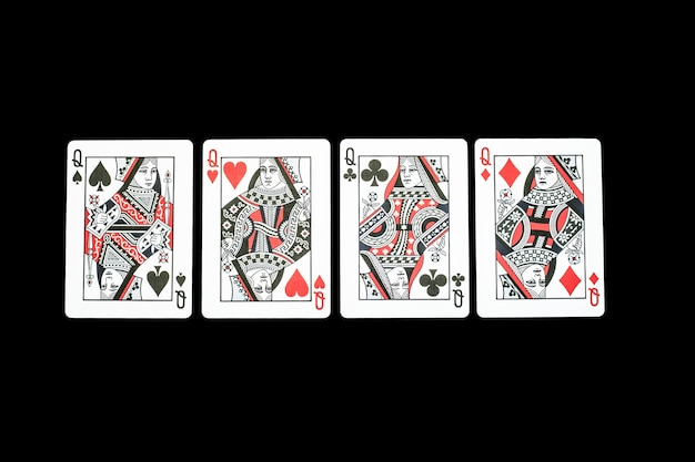 Poker casino playing cards