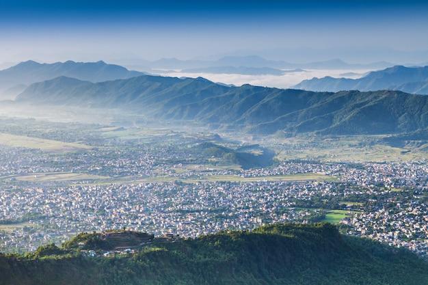 Pokhara city
