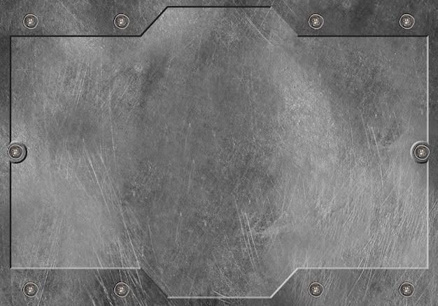 洗練された金属のテクスチャ背景