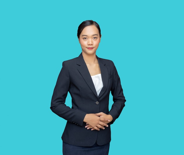 Polite personality smart asian businesswoman for apply job