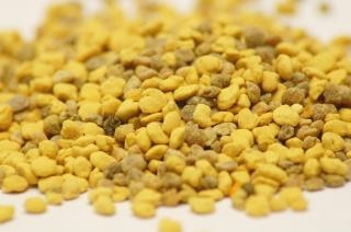 Пыльцу, макро