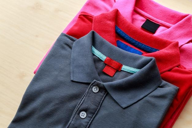 Polo shirts Premium Photo