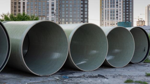 地下パイプライン用ポリエチレンパイプ、高層高層ビルの建設