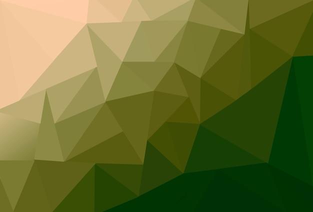 グラデーションカラーの多角形の図の背景