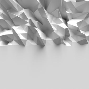 Polygonal geometric triangle background