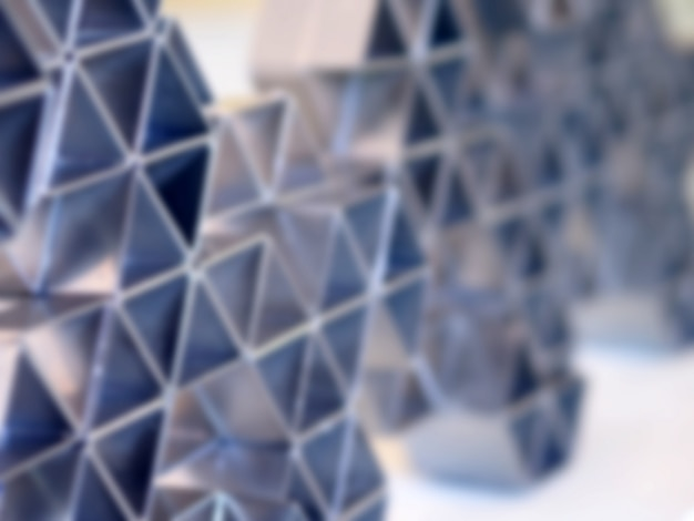 Polygonal technology abstract background