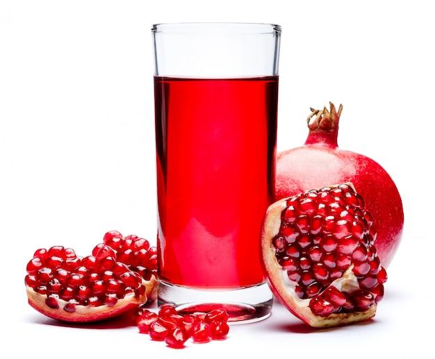 Гранатовый сок и семена