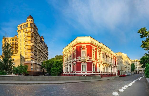 Pommer building in odessa, ukraine